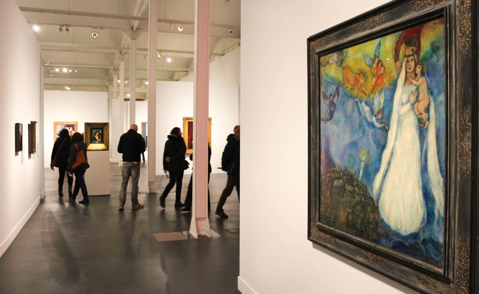 "Ausstellung ""Thyssen in Barcelona"", Caixa Forum"