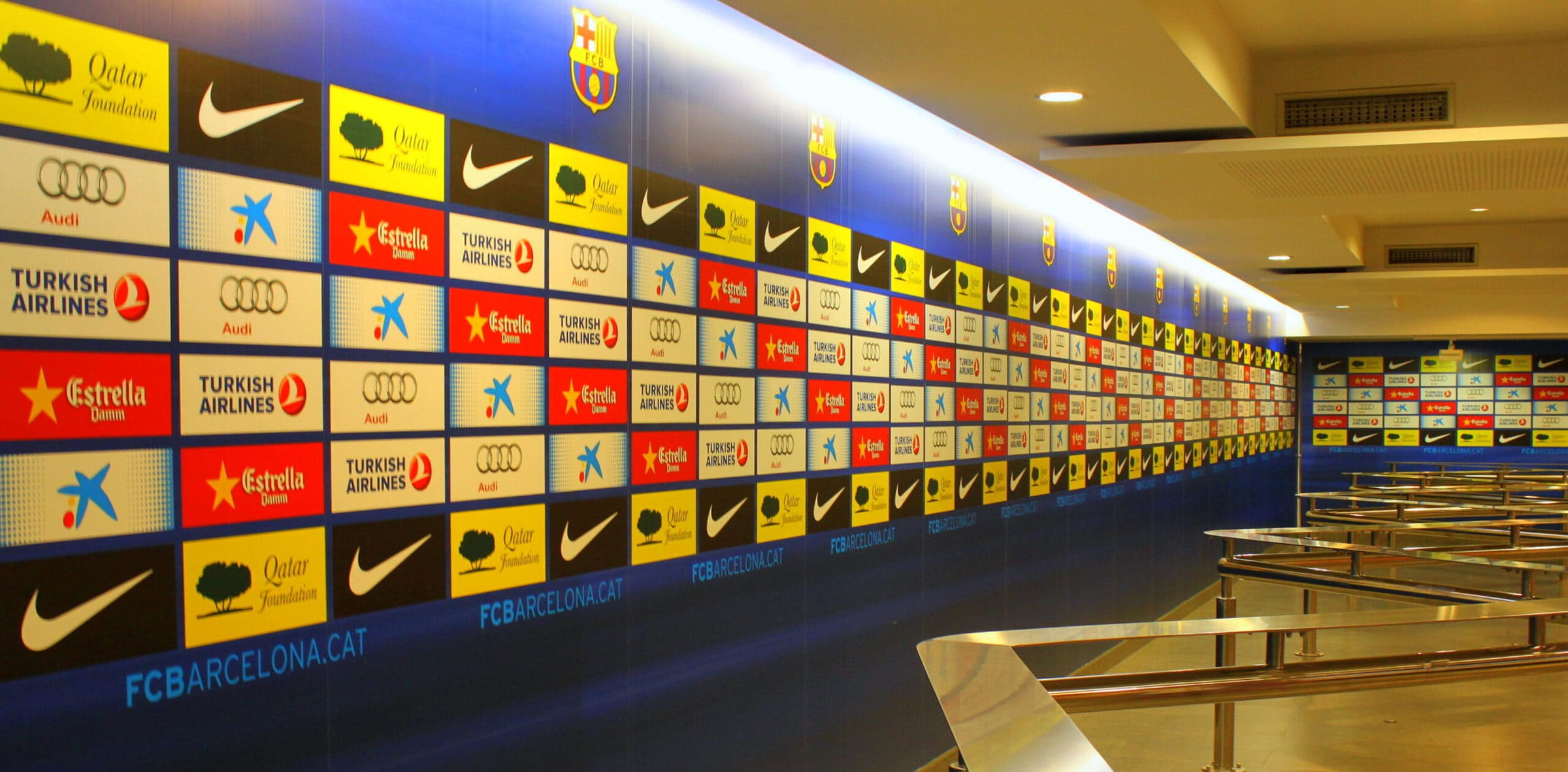Pressebereich, Camp Nou Stadion, Barcelona
