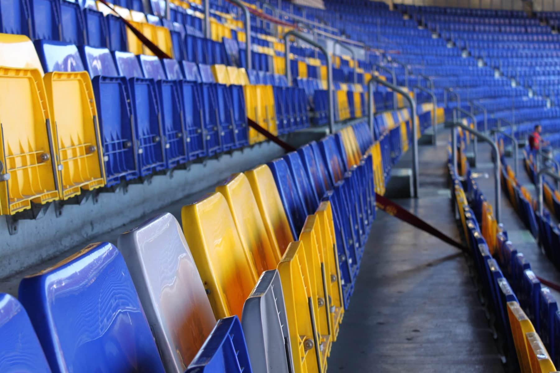 Sitzbereich, Camp Nou Stadion, Barcelona