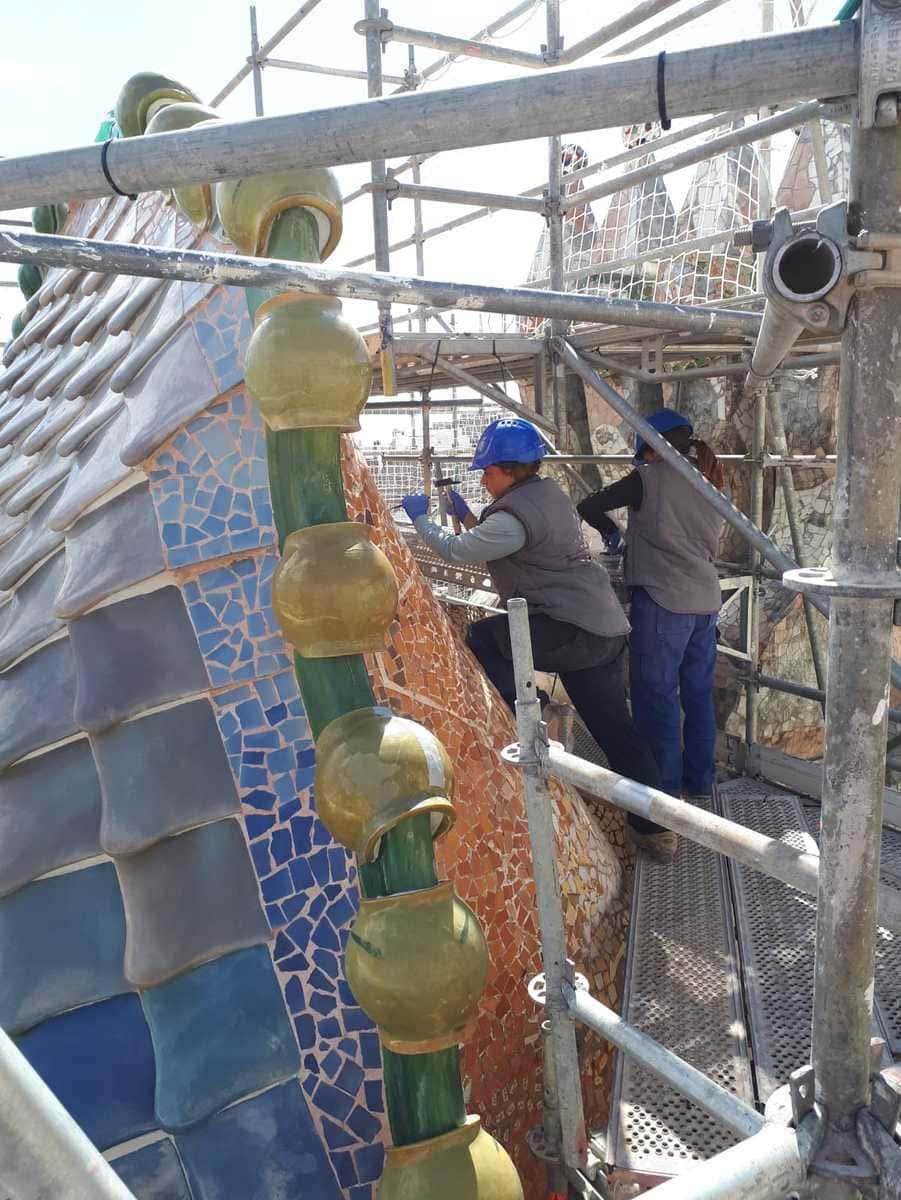 Casa Batllo Restaurierung 2019