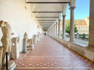 "Kreuzgang ""Chiostro di Michelangelo"", Diokletiansthermen Rom"