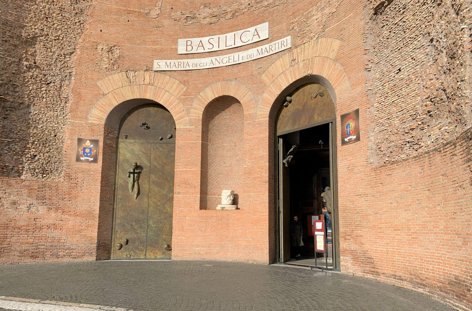 Diokletiansthermen Rom, Santa Maria degli Angeli e dei Martiri