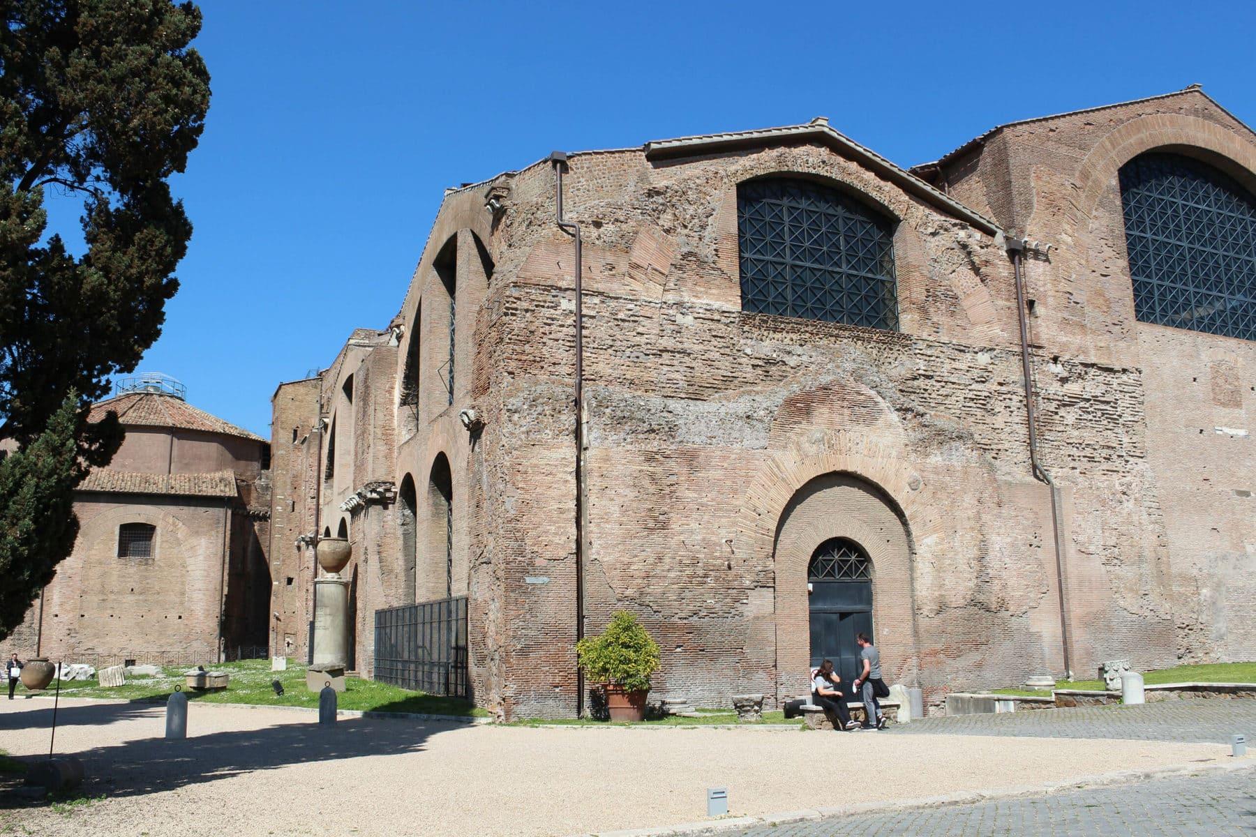 Freibereich Diokletianstherme Rom