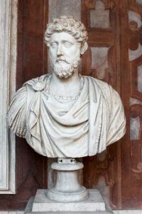 Marc Aurel, Forum Romanum