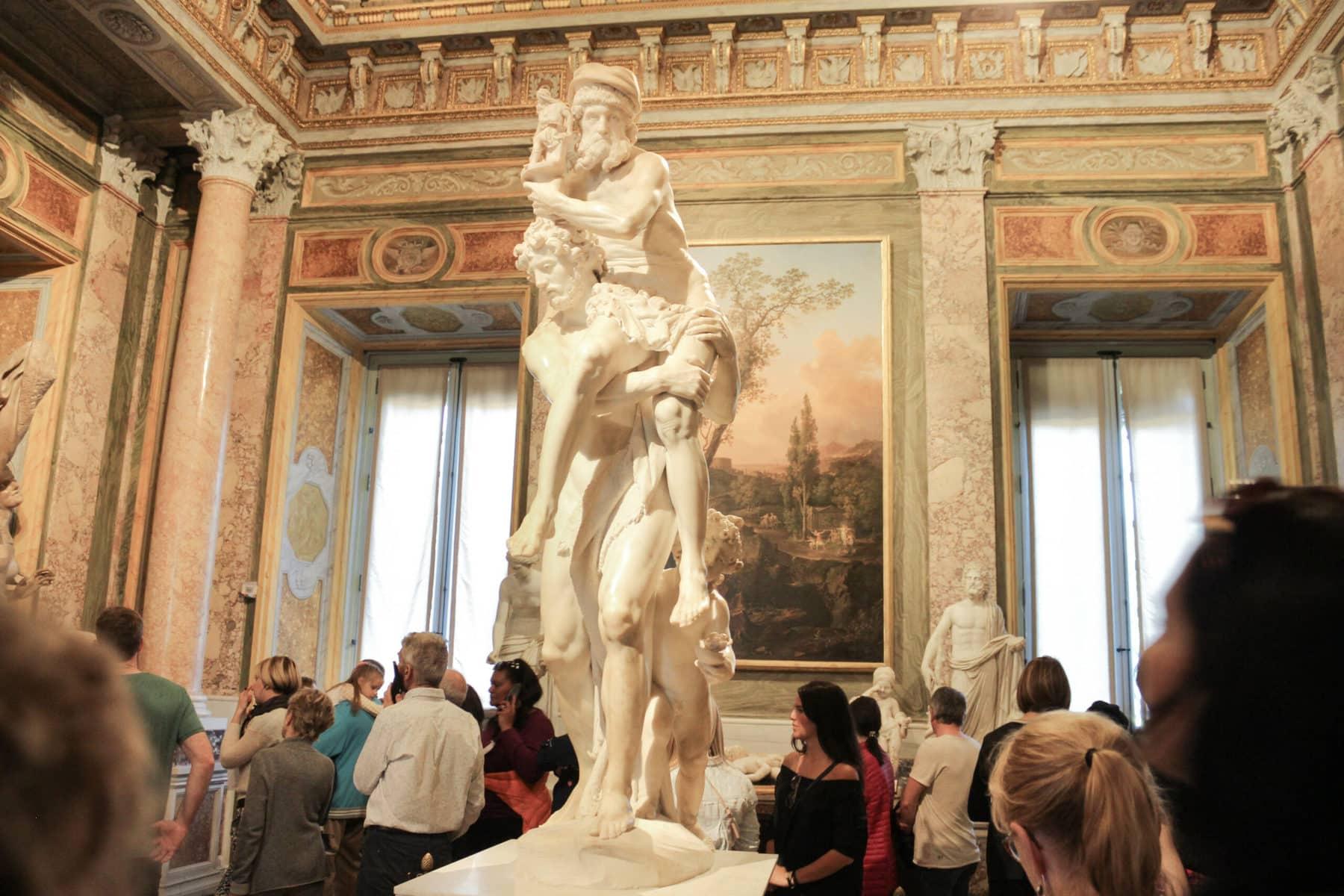 Galleria Borghese, Rom: Aeneas