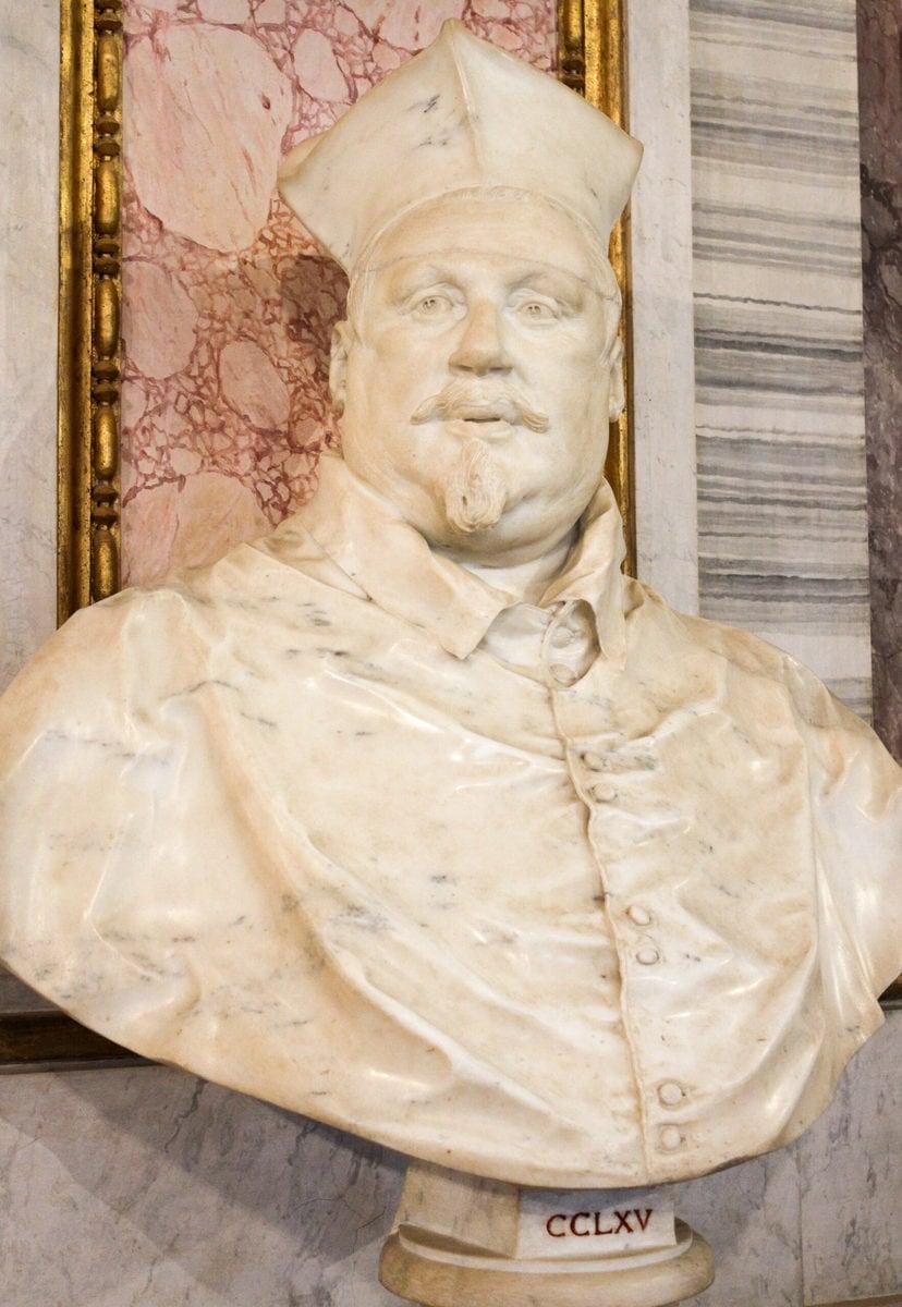Büste von Scipione Caffarelli Borghese, Galleria Borghese, Rom