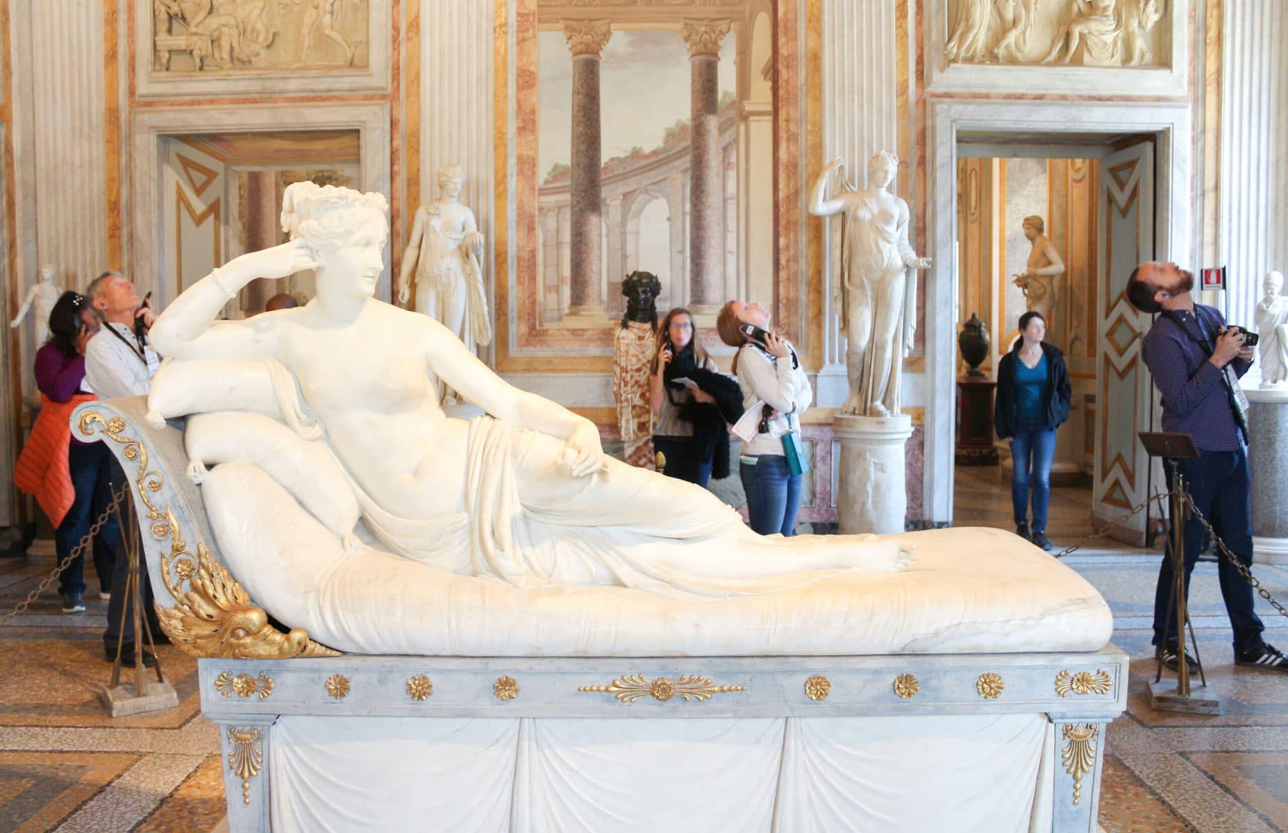 Antonio Canova: Paulina Borghese, Galleria Borghese, Rom