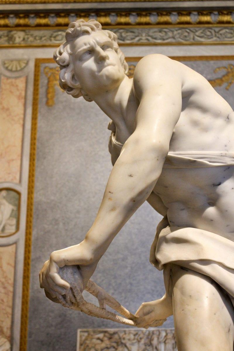 Galleria Borghese: David, Rom