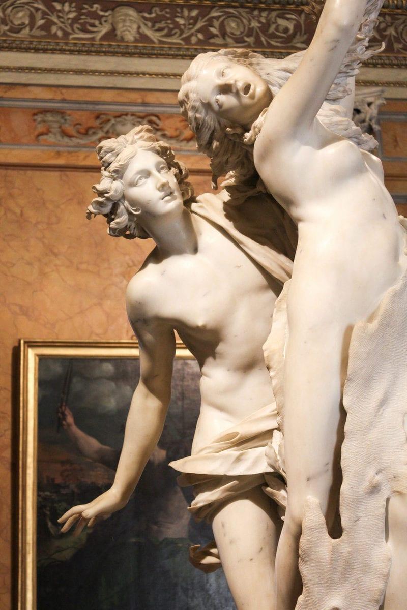 Galleria Borghese: Apoll und Daphne, Rom