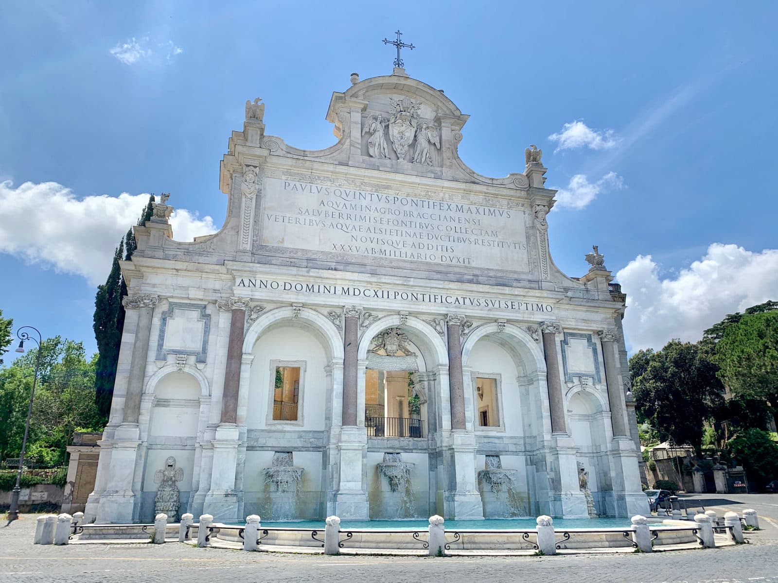 Gianicolo Hügel Rom, Acqua Paola