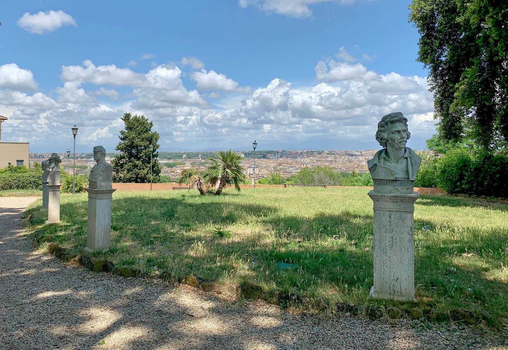 Gianicolo Hügel Rom
