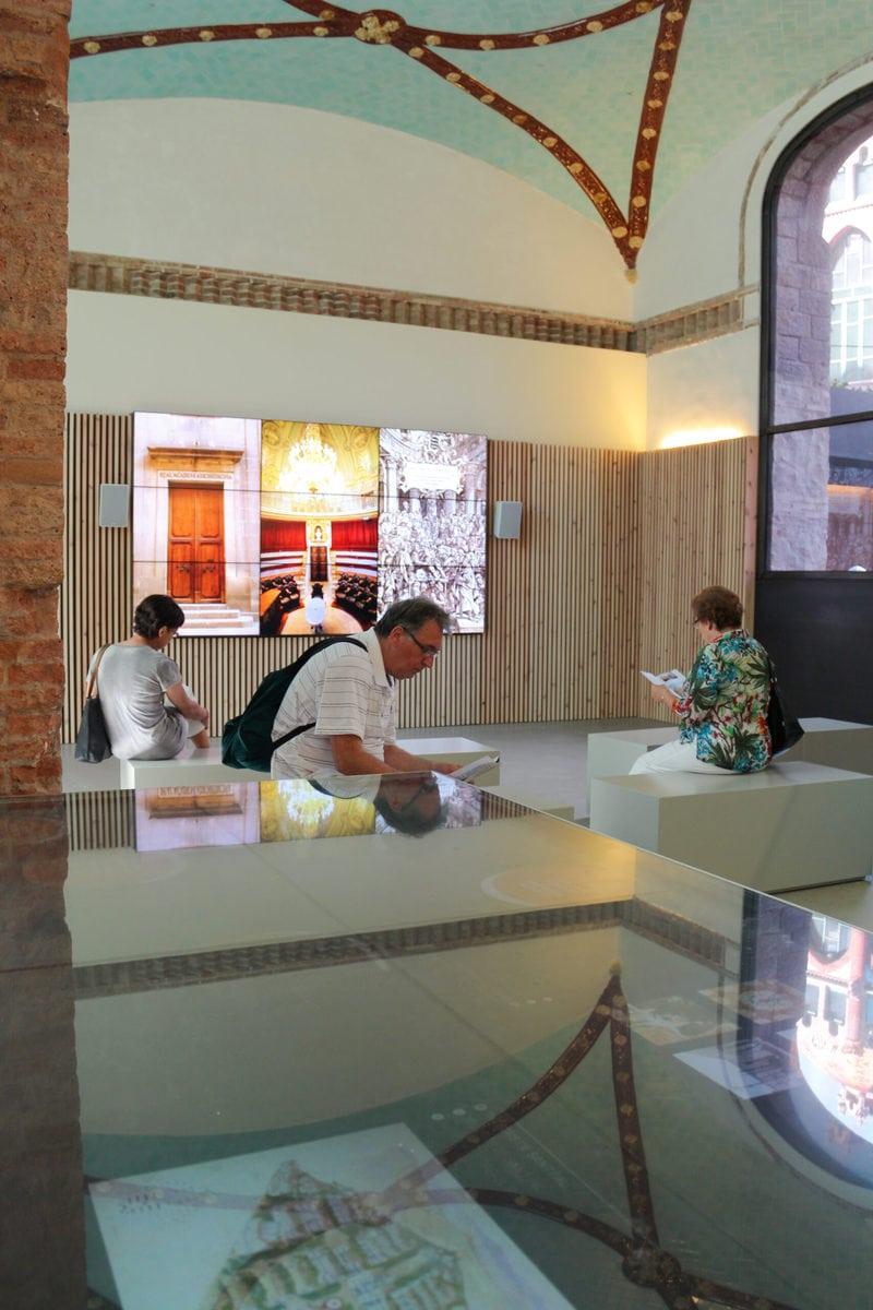 Erste Informationen über das Hospital de Sant Pau, Barcelona