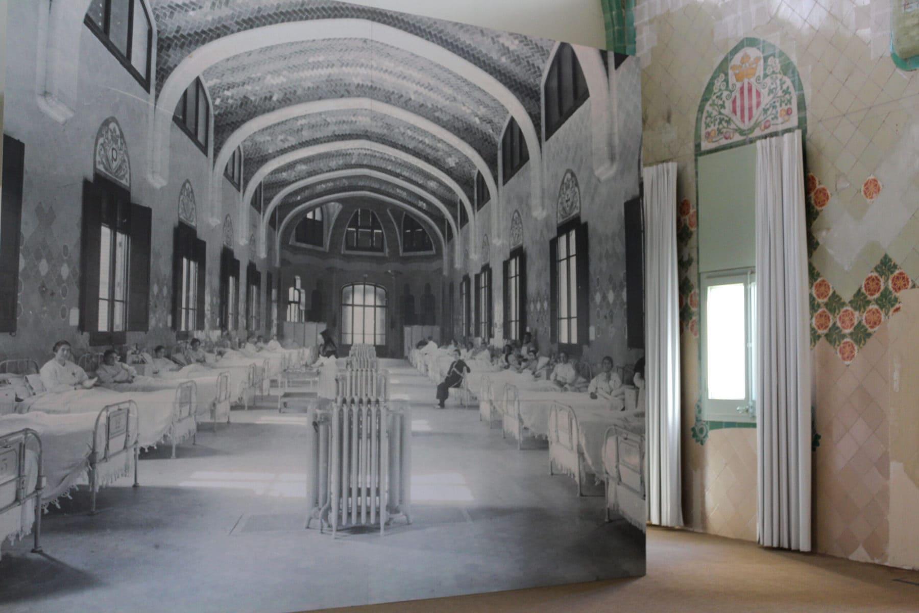 Hospital de Sant Pau, Barcelona - Historische Fotografie