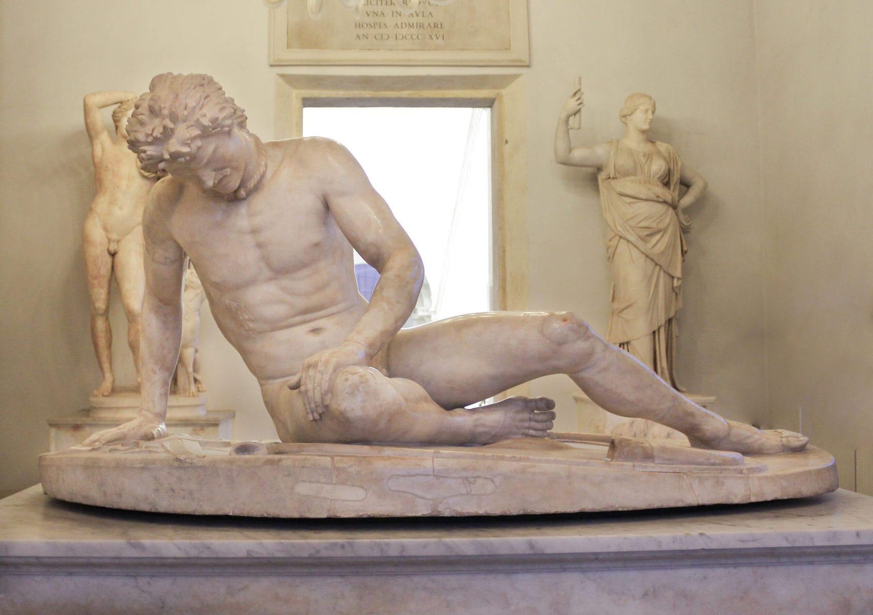 Der Sterbende Gaul, Kapitolinische Museen, Rom