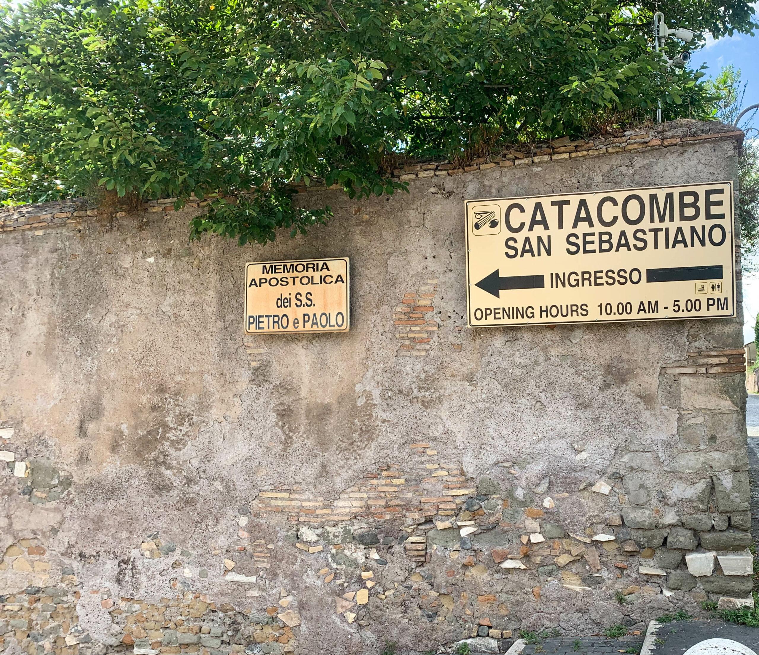 Kirche + Katakomben San Sebastian, Rom