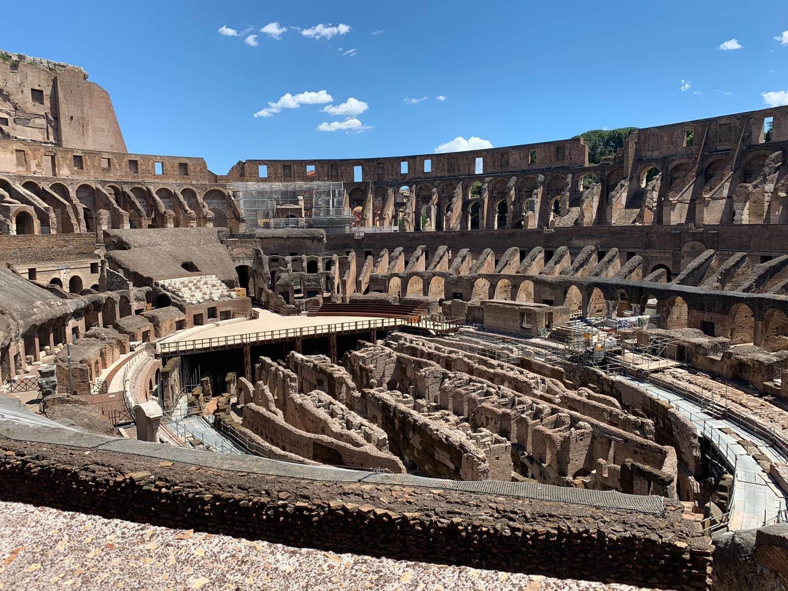 Kolosseum Rom während Corona