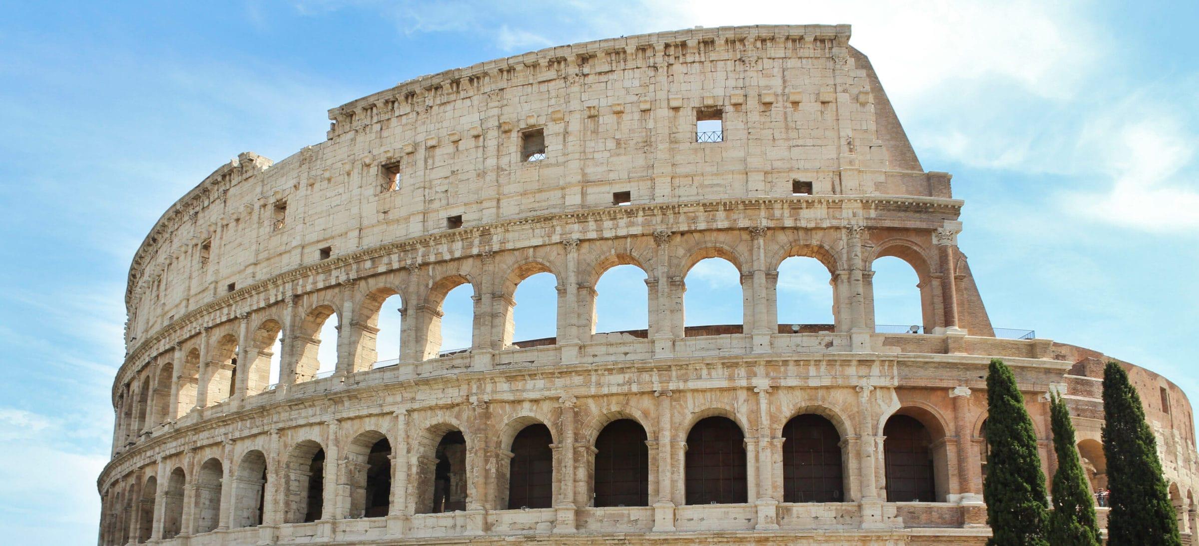 Fassade Kolosseum Rom