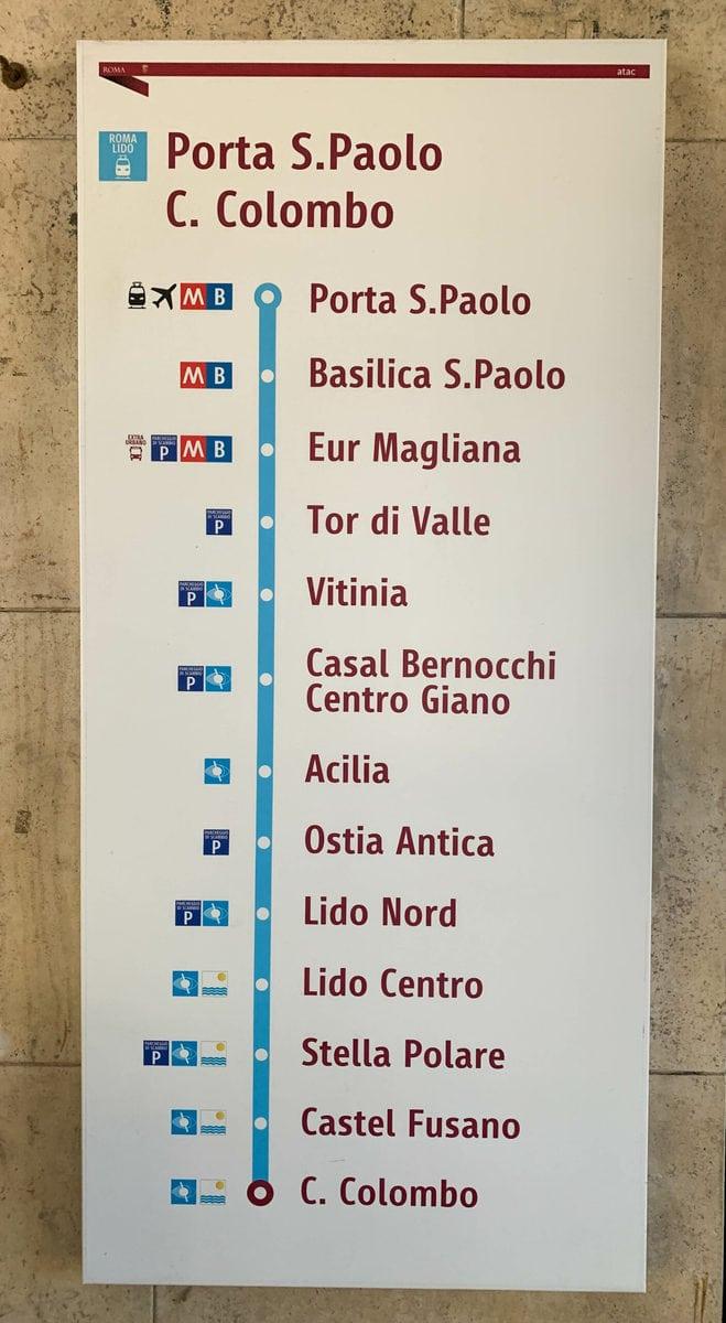 Lido di Ostia, Rom