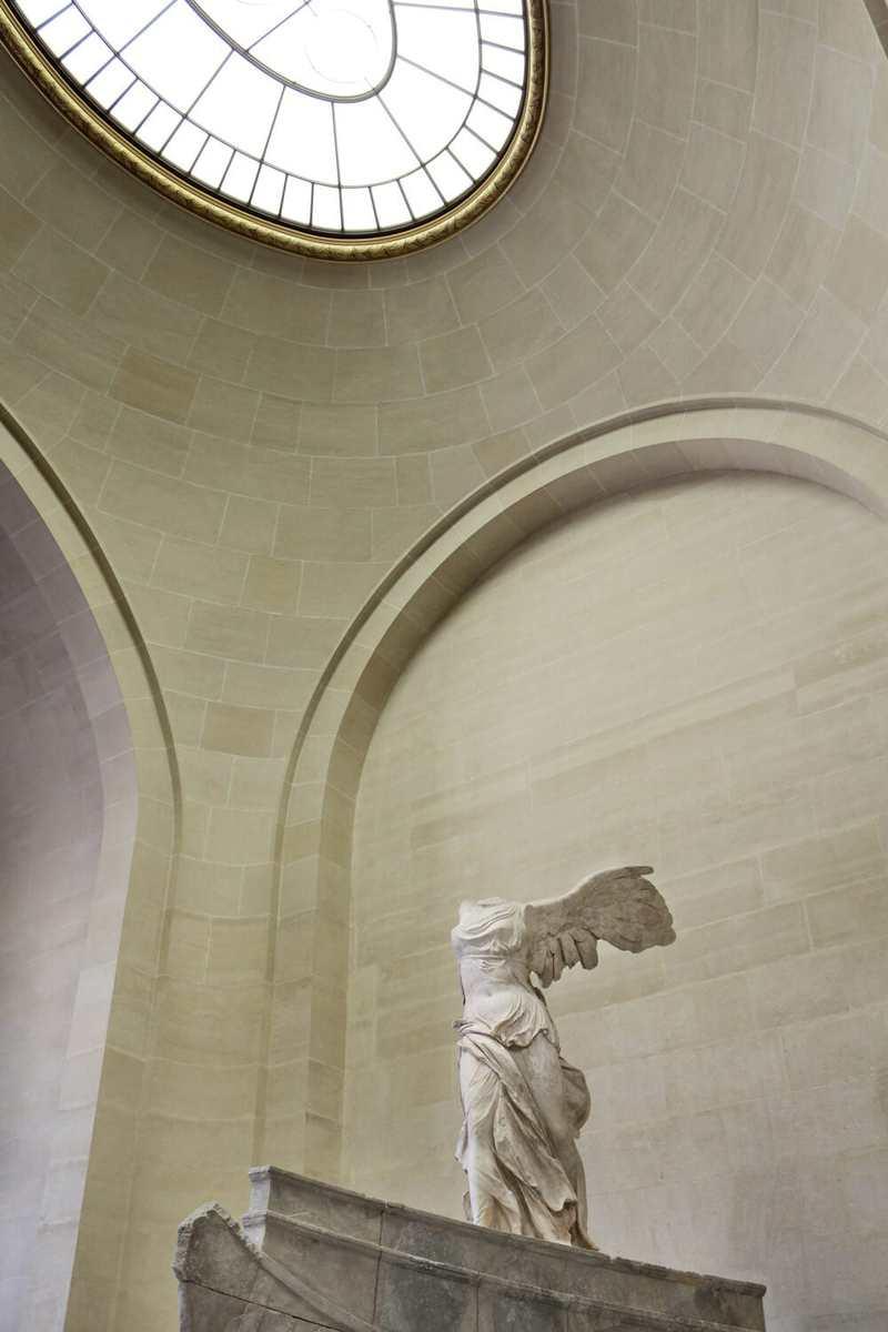 Pythokritos von Lindos: Nike von Samothrake, Louvre, Paris