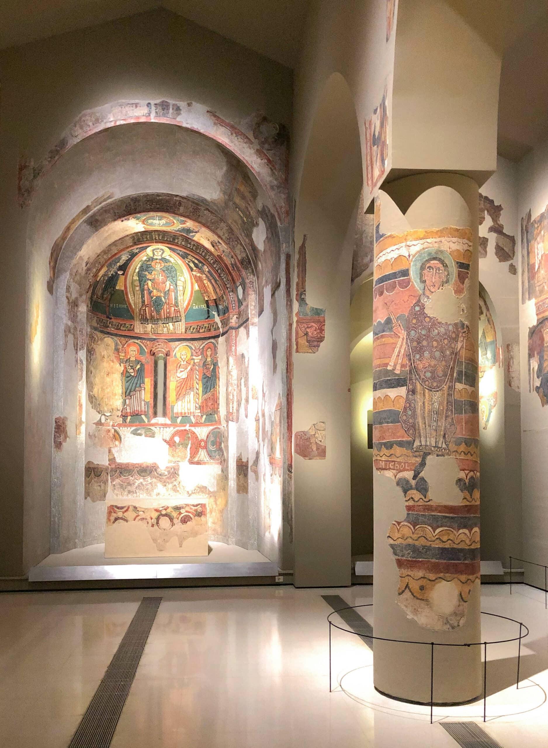 Apsis von Santa Maria de Taüll, Meister von Santa Maria de Taüll, ca. 1123, Museu National d'Art de Catalunya