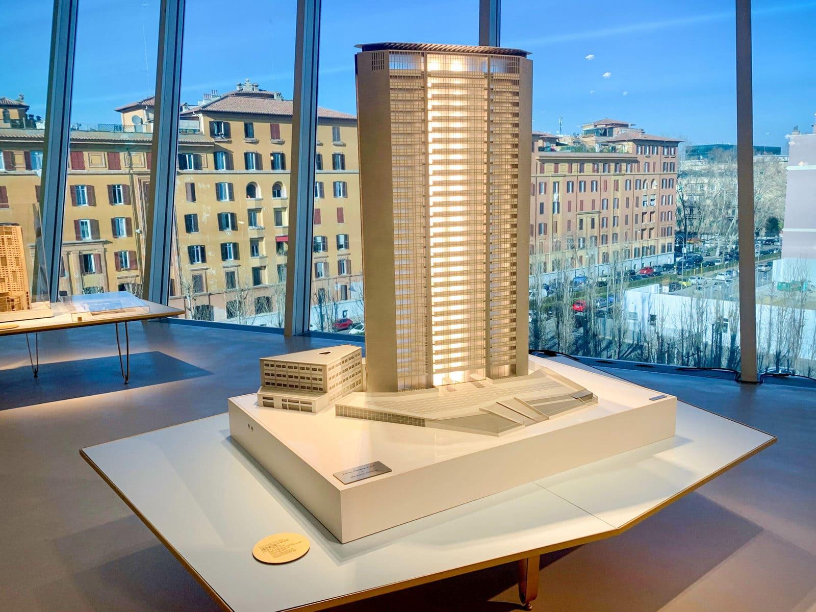 MAXXI Rom Gio Ponti Ausstellung, Grattacielo Pirelli / Pirelli Tower Milano 1956-1960, Rom