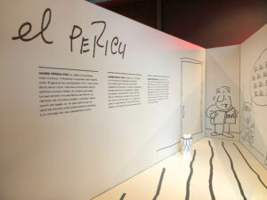 Mercat del Born: Ausstellung Jaume Perich