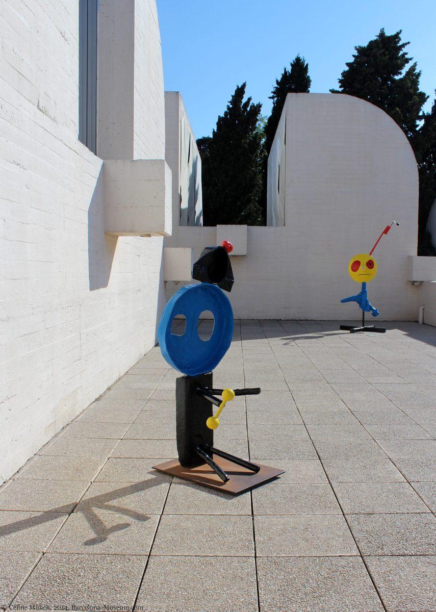 Fundació Miró Barcelona - Dachterrasse