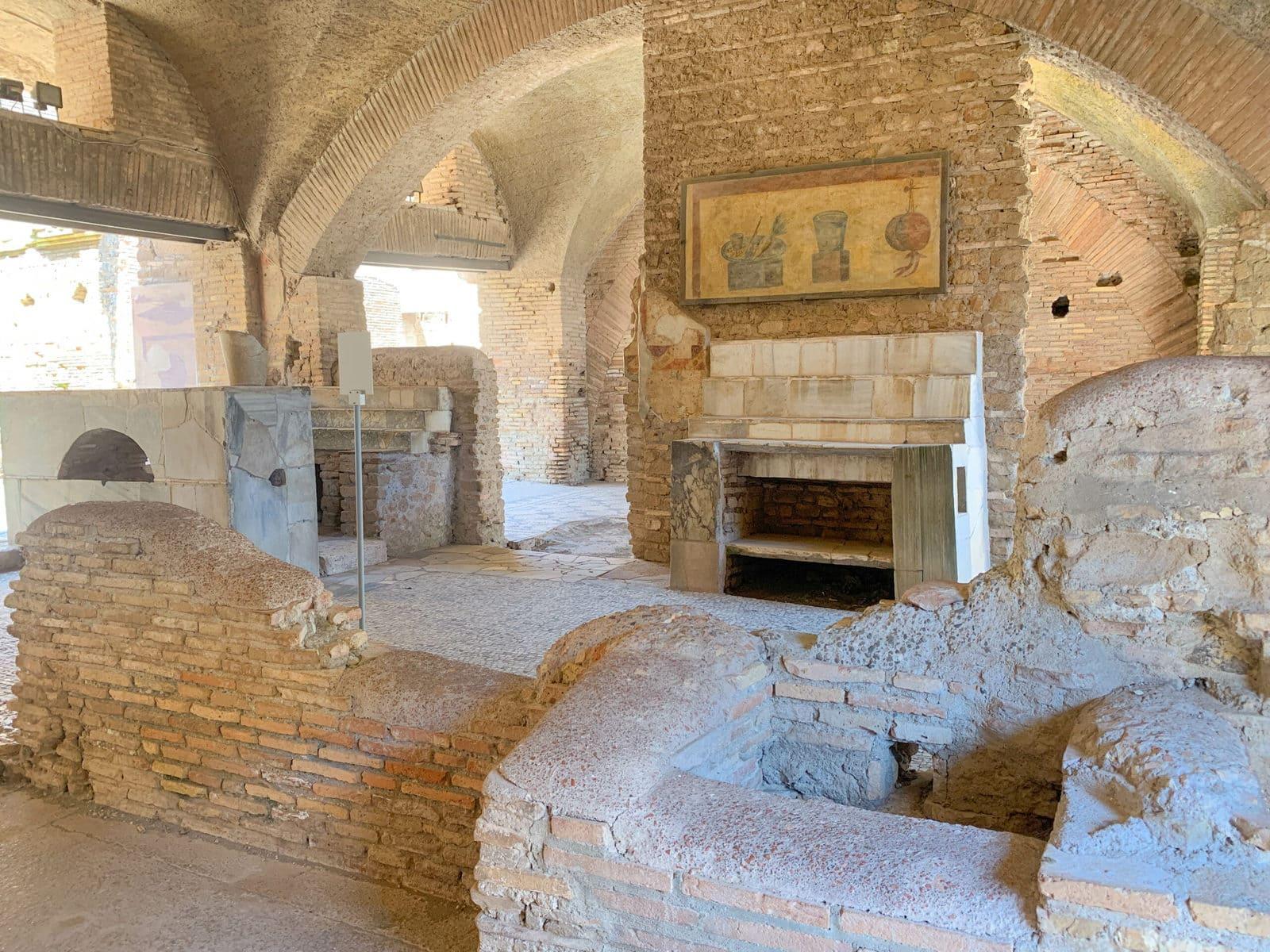 Via dei Mulini, Ostia Antica, Rom