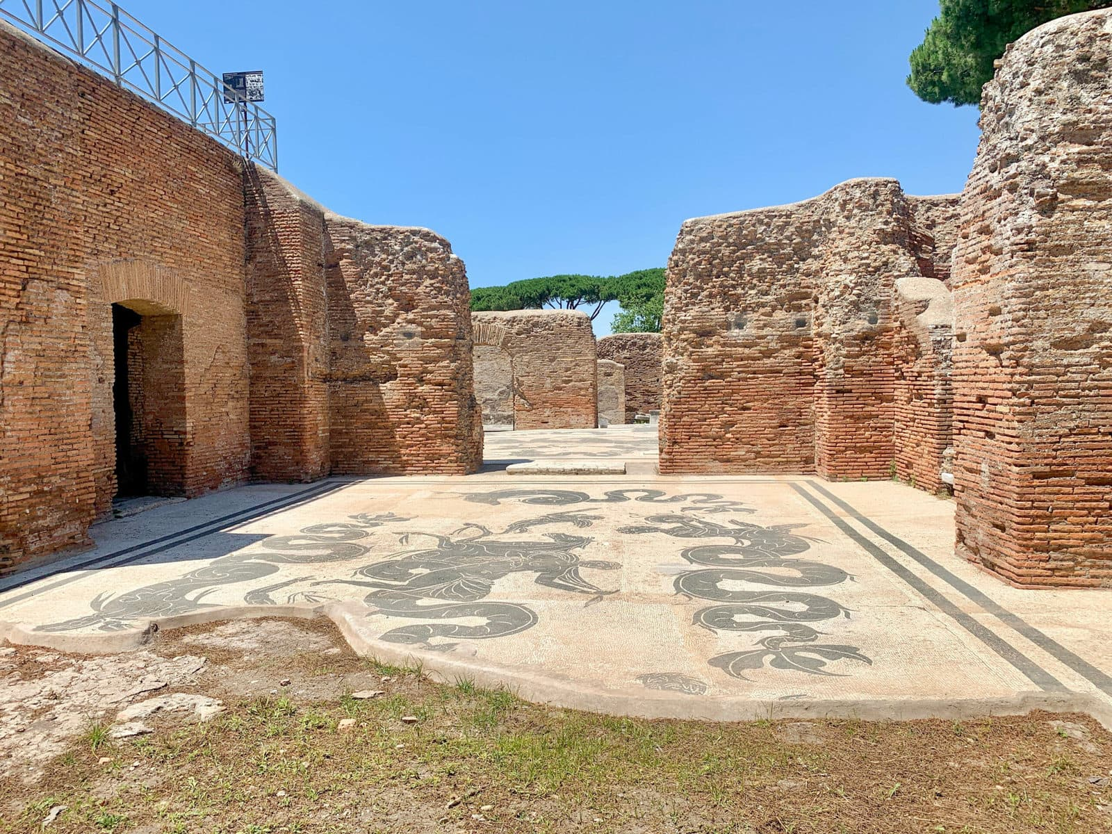 Neptun-Therme, Ostia Antica, Rom
