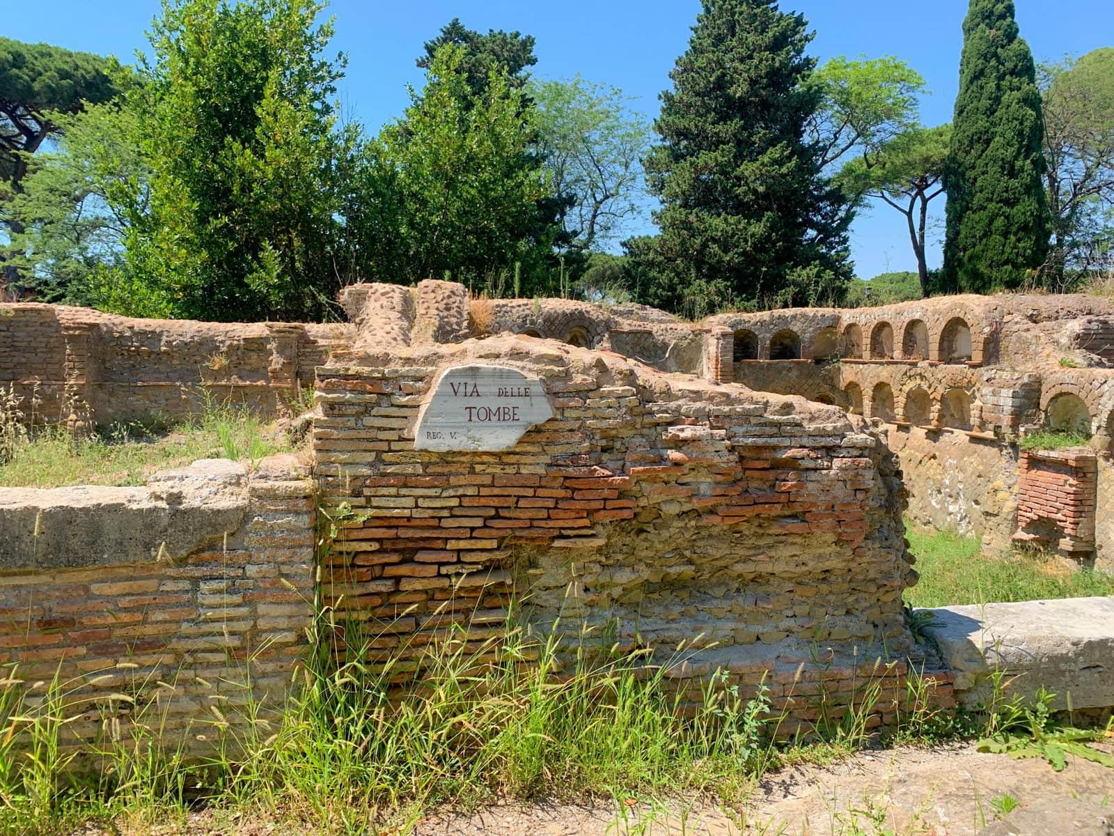Friedhof Ostia Antica, Rom