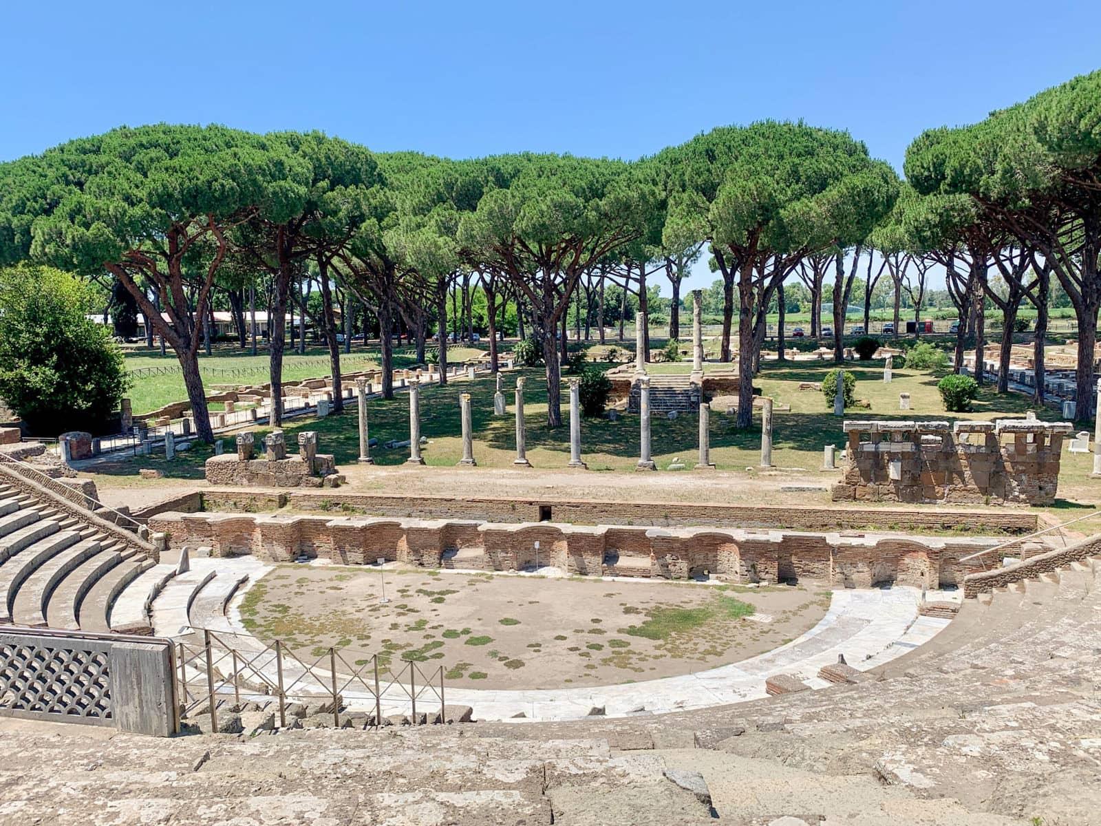 Theater, Ostia Antica, Rom