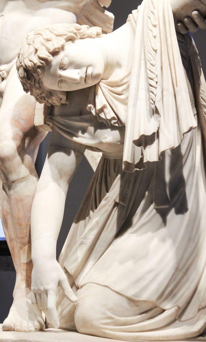 Der Galatische Selbstmord, Palazzo Altemps, Rom
