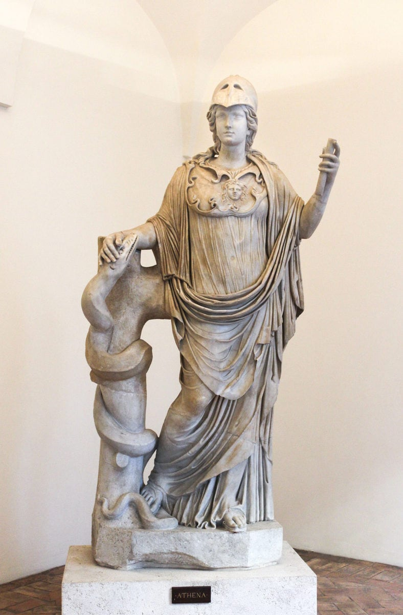 Athena im Palazzo Altemps, Rom