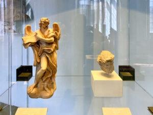 Engel mit Titel, Giovanni Lorenzo Bernini, Palazzo Venezia, Rom