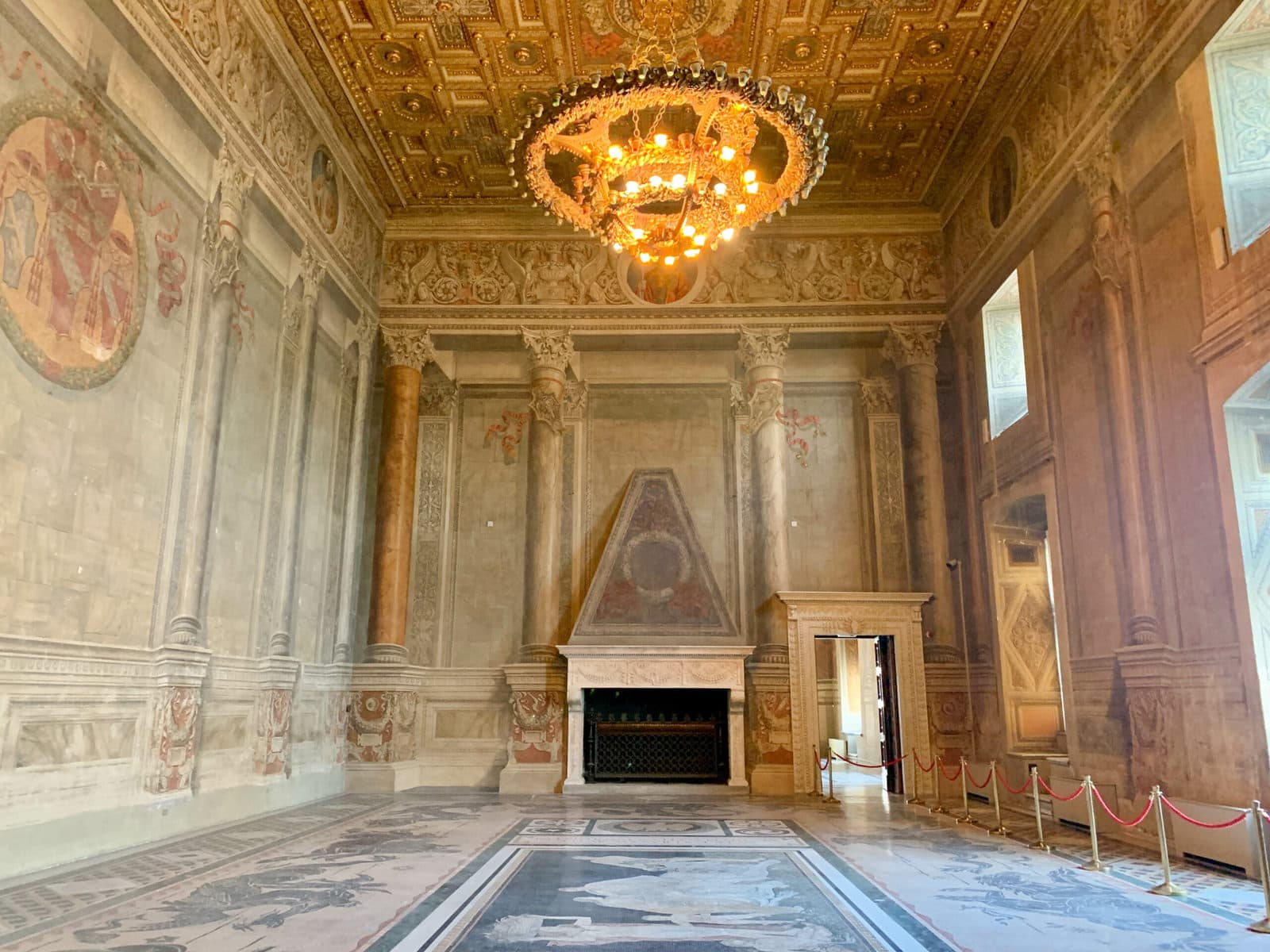 Palazzo Venezia, Prunkraum, Rom