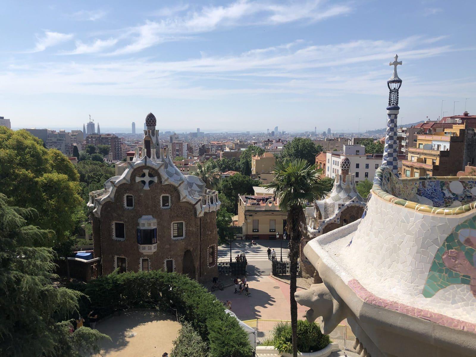 Park Güell nach Covid-19, Barcelona