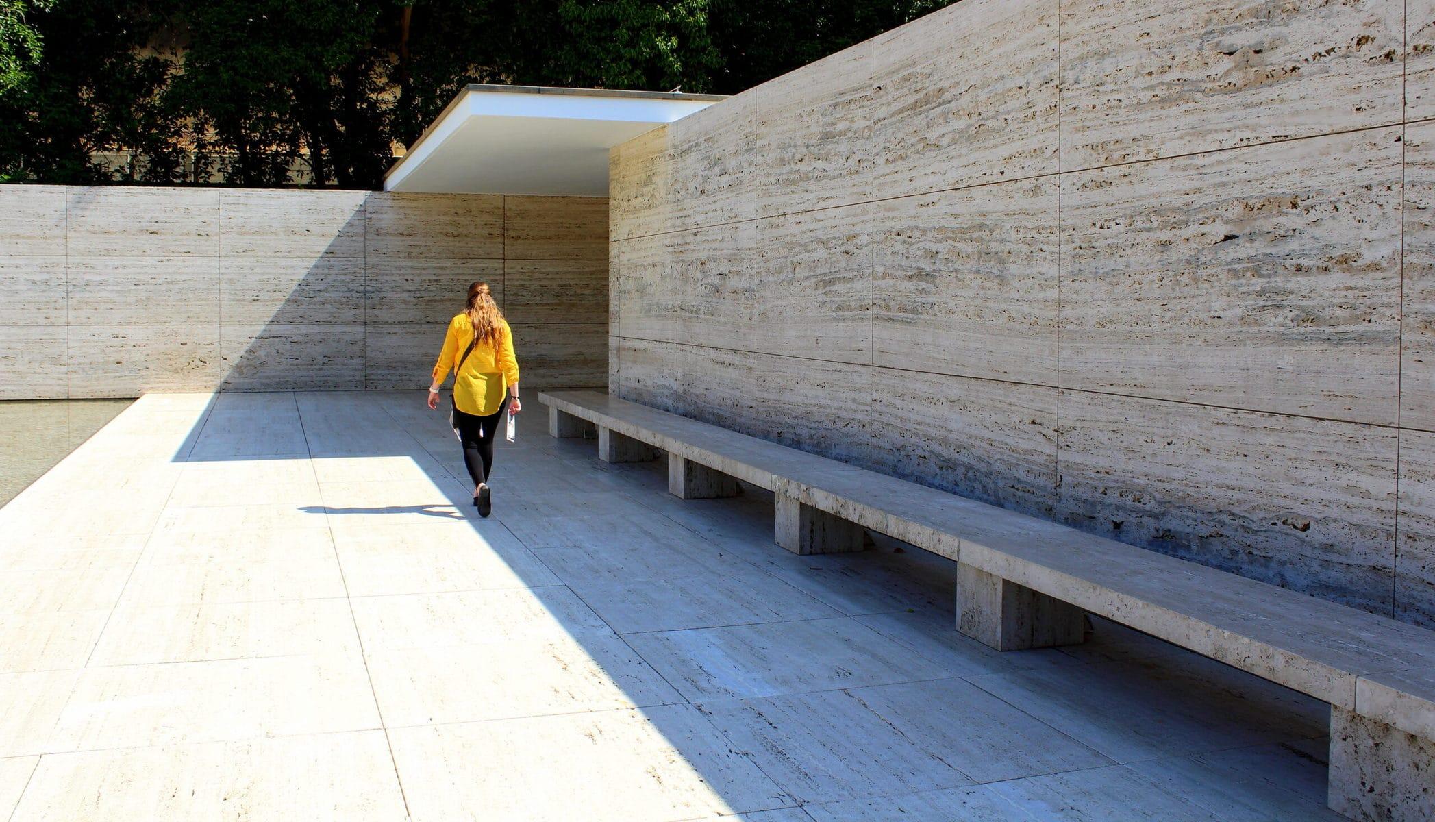 Pavillon Mies van der Rohes in Barcelona