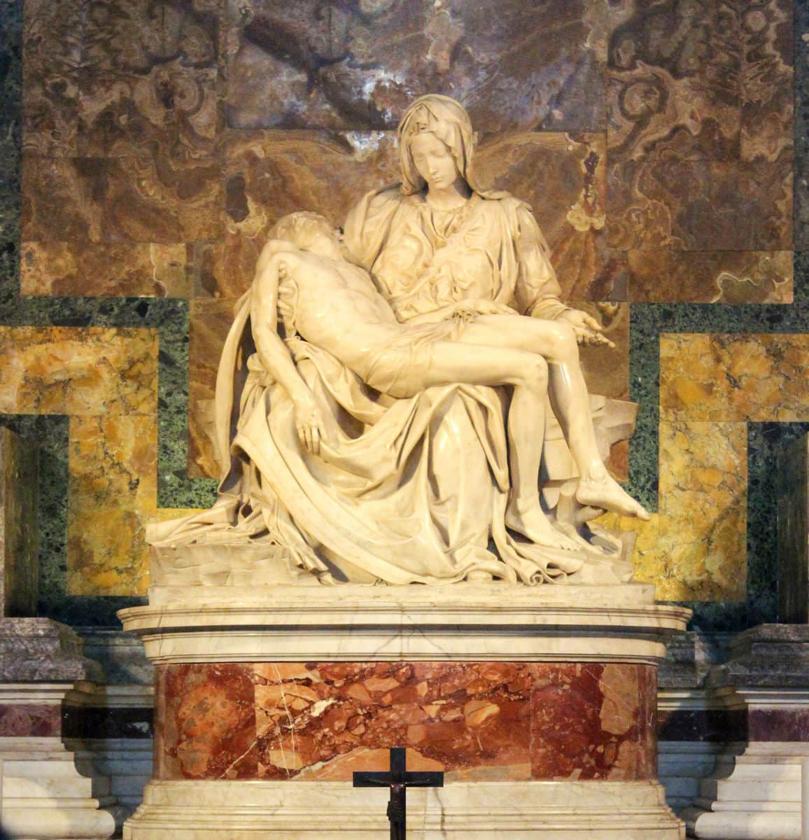 Pietà, Michelangelo, Petersdom, Rom