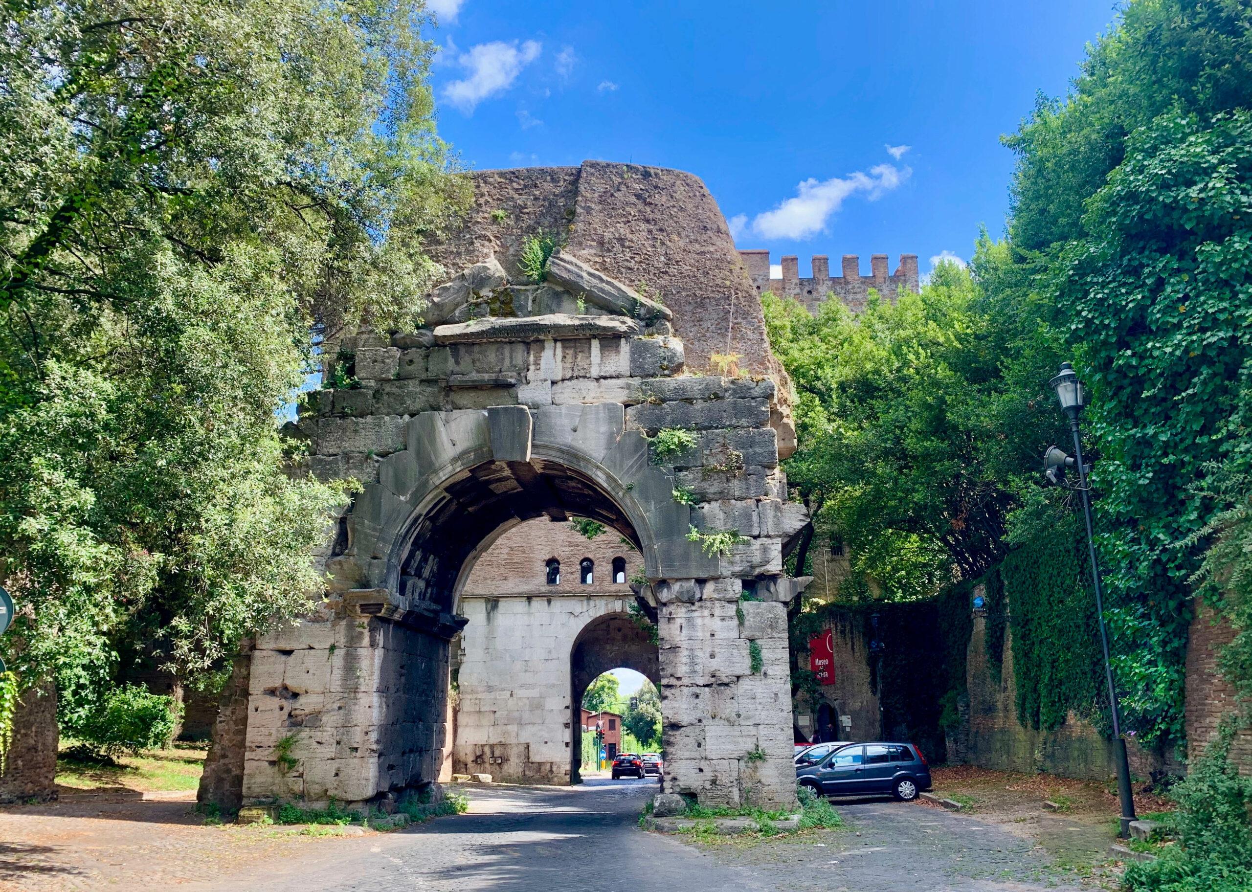 Porta san Sebastian Museo della mura, Rom