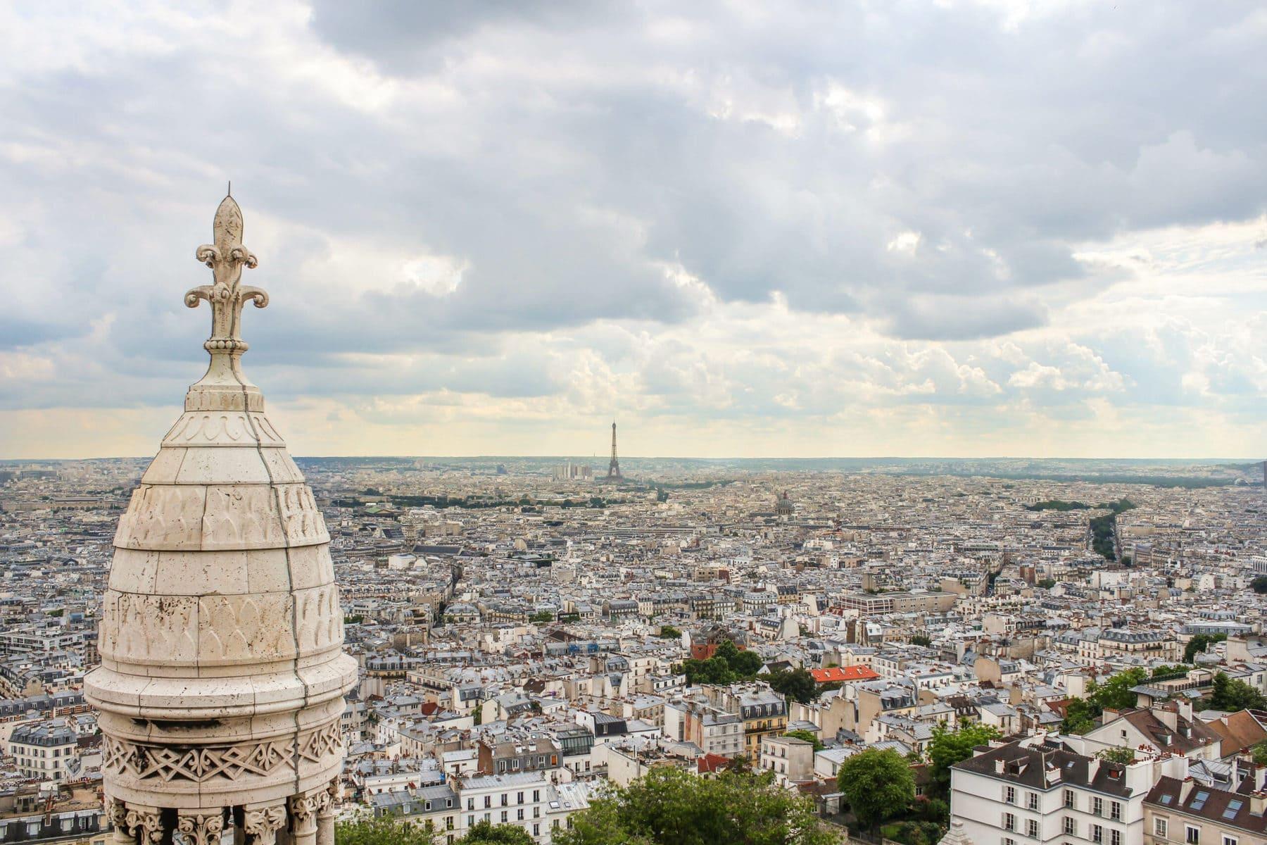 Sacré-Coeur, Aussicht, Paris