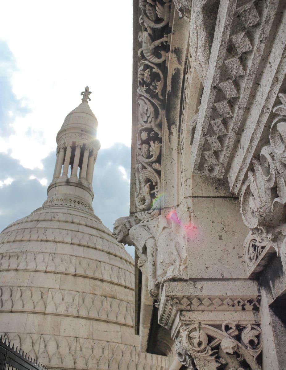 Sacré-Coeur, Kuppelaufstieg, Paris