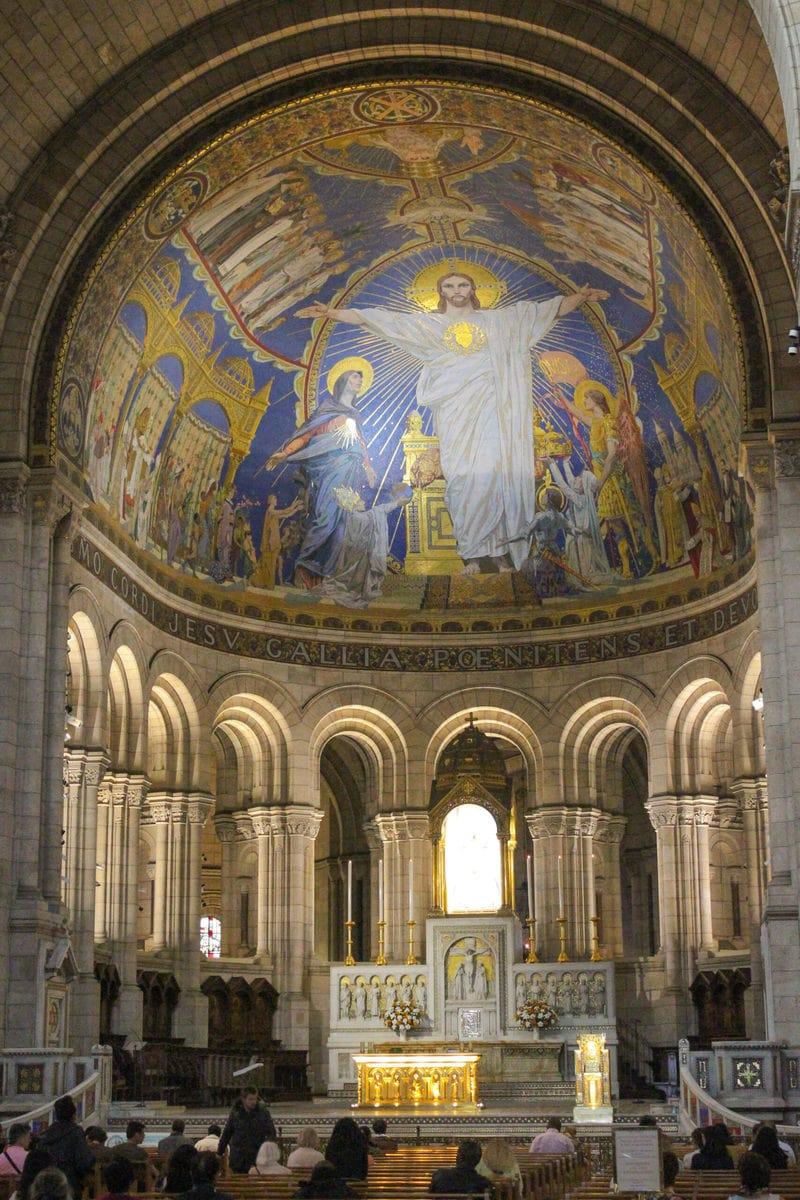 Sacré-Coeur, Innenansicht, Paris