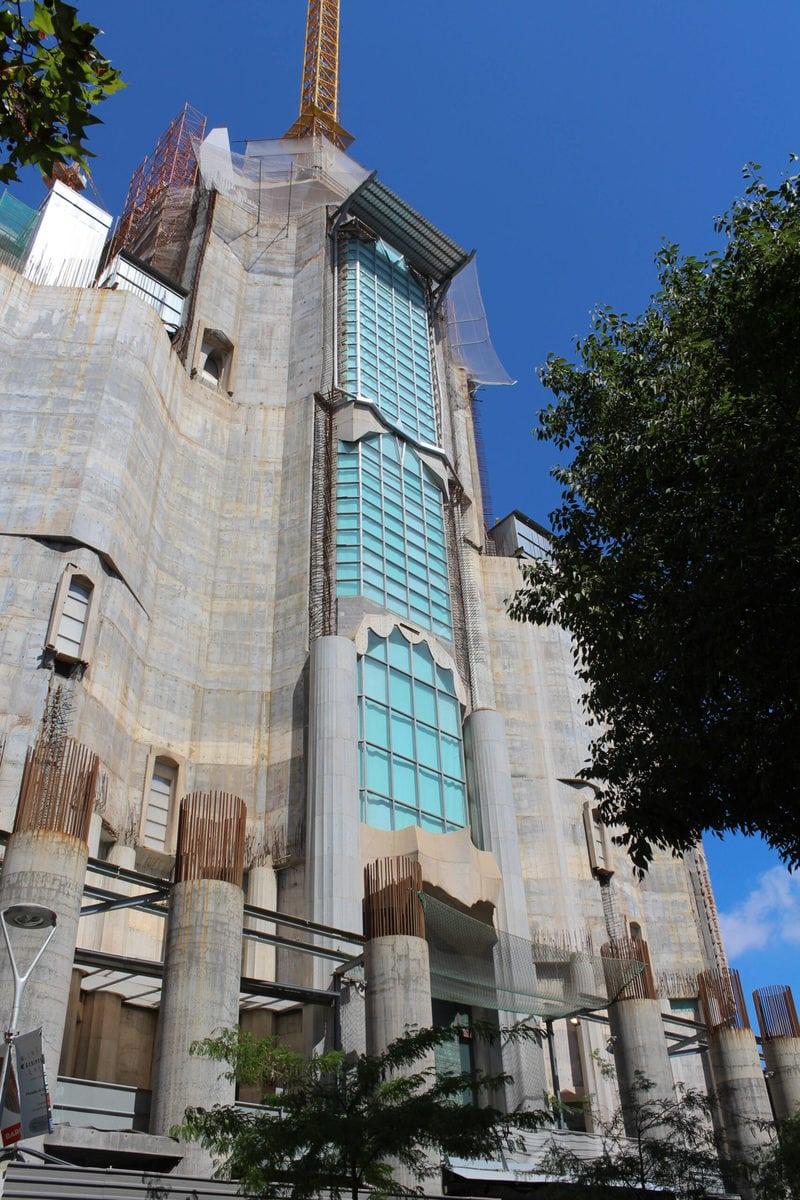 Sagrada Familia: Glorienfassade