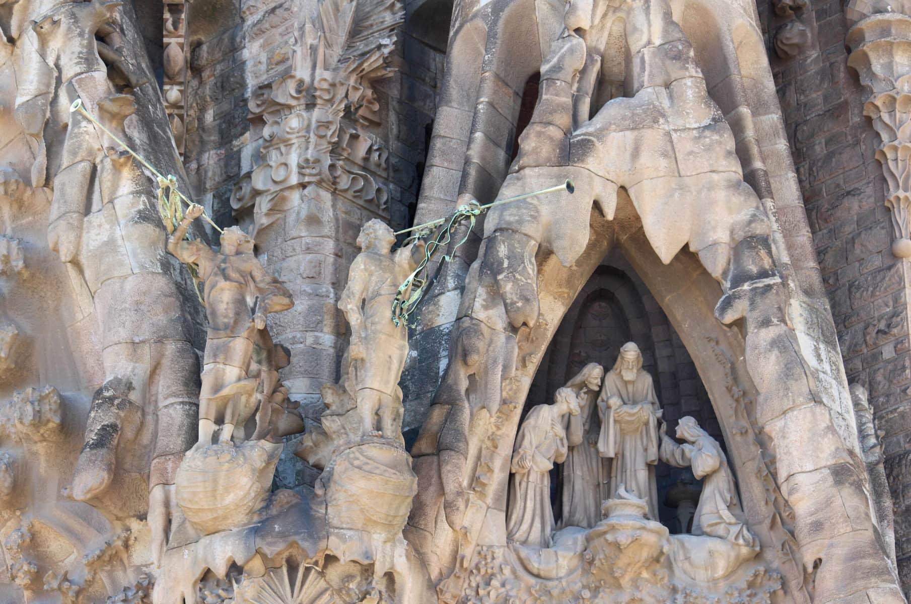 Sagrada Familia: Geburtsfassade