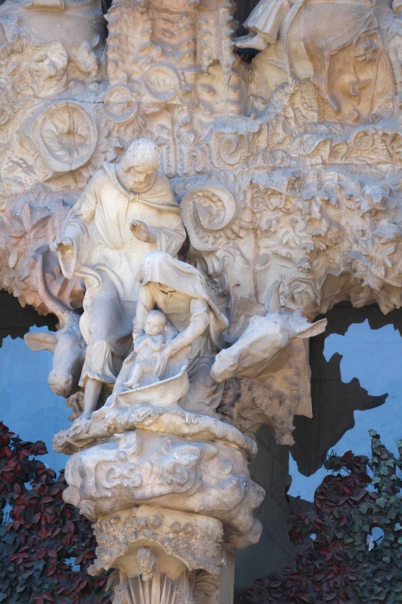 Sagrada Familia Geburtsfassade: Die Heiligen Drei Könige