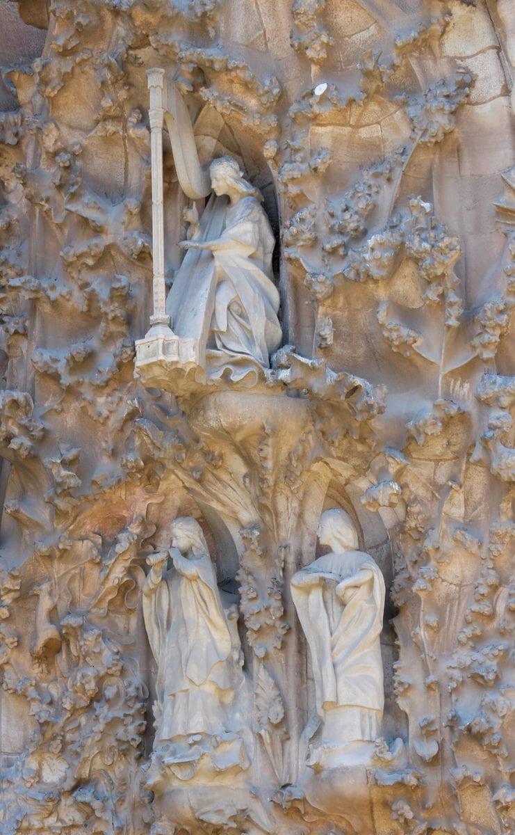 Sagrada Familia, Geburtsfassade