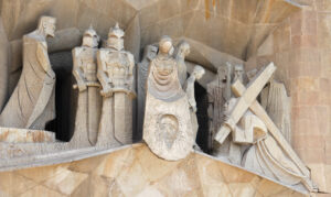Sagrada Familia: Kreuzweg, Die Szene mit Veronica und dem Schweißtuch