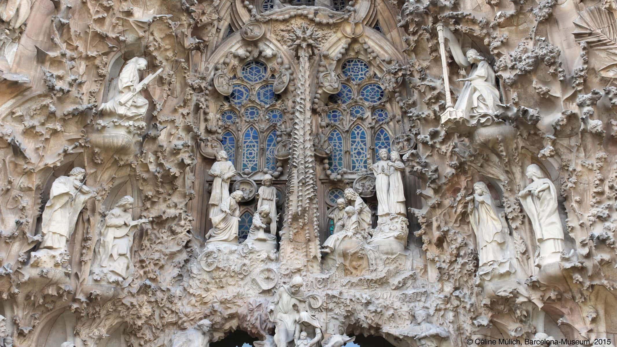 Sagrada Familia: Geburtsfassade (Detail)