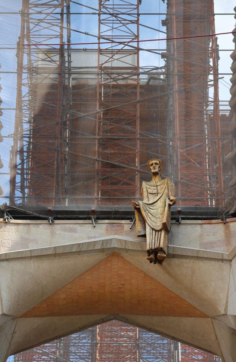 Sagrada Familia: Der Messias aus Bronze