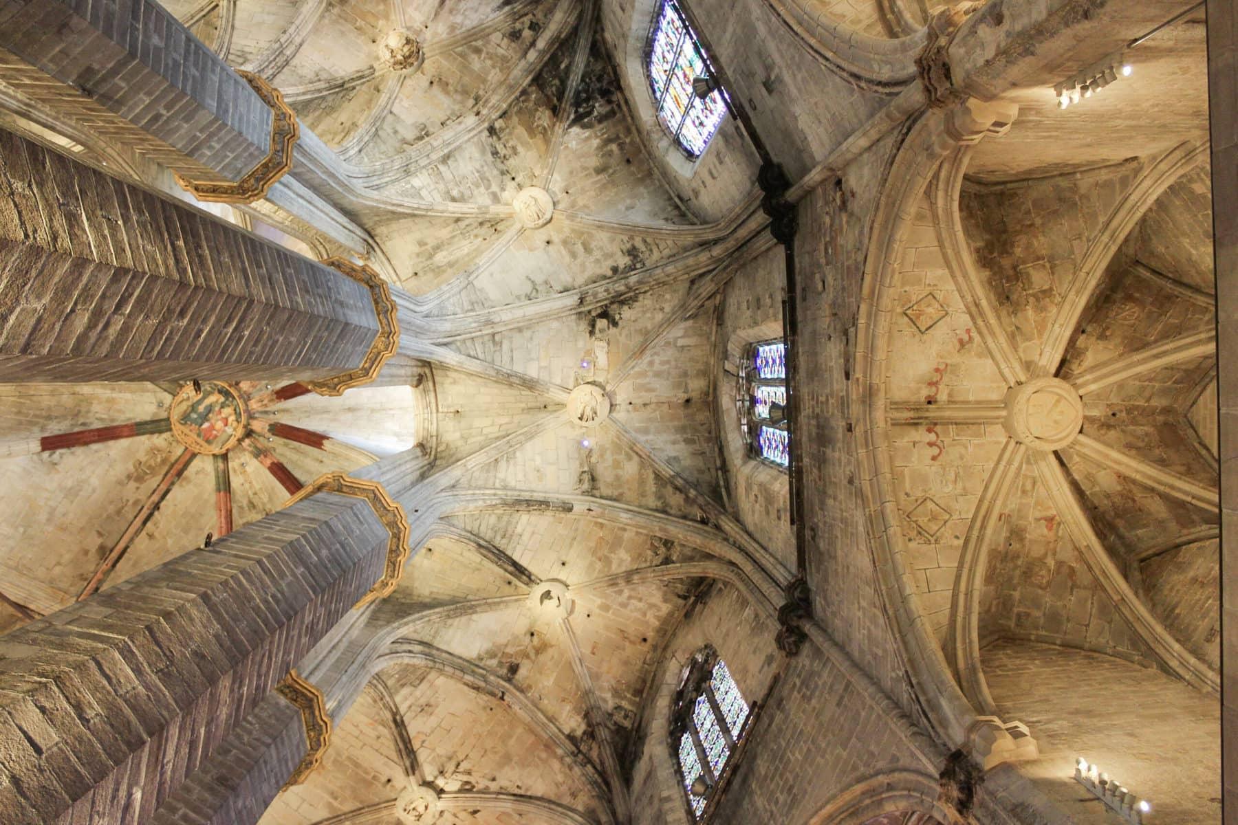 Santa Maria del Mar, Barcelona, Innenansicht